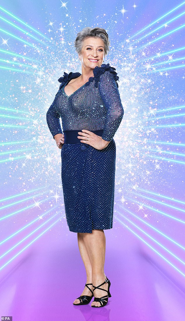 Accident:Caroline Quentin has admitted she sometimes worries she will accidentally wee on Johannes Radebe during training for Strictly Come Dancing