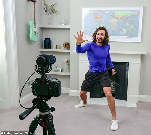 He's back!Joe Wicks has confirmed that he is bringing back his intense exercise classes during November's four-week national lockdown