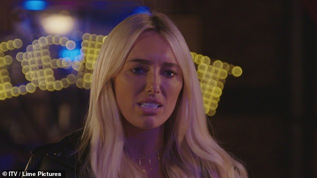 Row:The TOWIE star, 26, took to Instagram with her own cryptic post about not being 'manipulated' following 27-year-old Amber's savage swipe