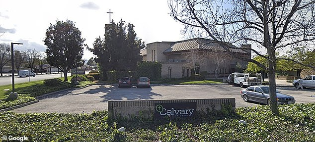The Calvary Chapel in San Jose, California received several citations and fines before being ordered to close on Monday