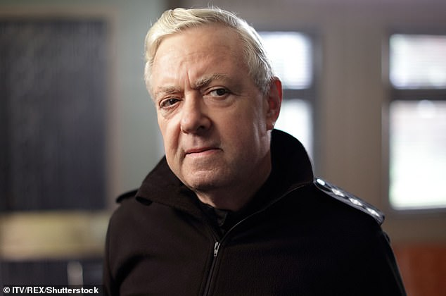 John Sessions as CI Frank Smilie in 'The Loch' TV Series - Jun 2017
