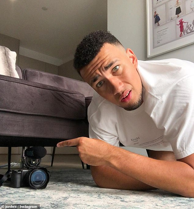 Challenges: Secret tasks will be tailor-made for some housemates (pictured, YouTuber Jordan Wilson) to both disturb the 'peace' and give certain contestants privileges