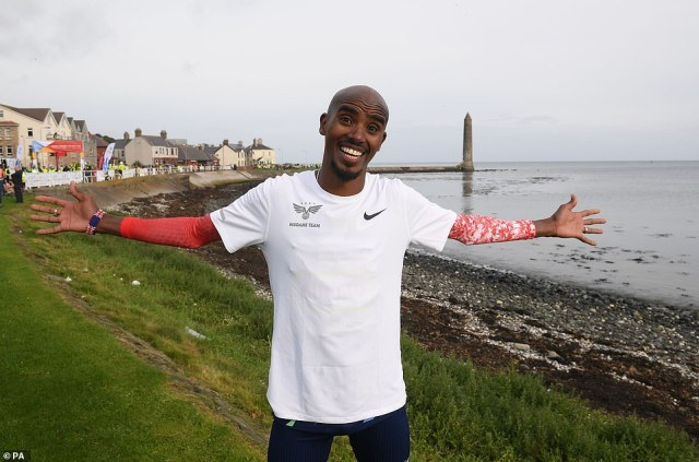 In the running: It was recently reported that Olympian champ Sir Mo Farah has joined the cast