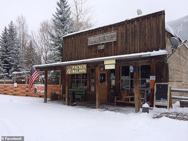 Visitors can dine on a 'cannibal salad' at the Packer Saloon & Cannibal Grill