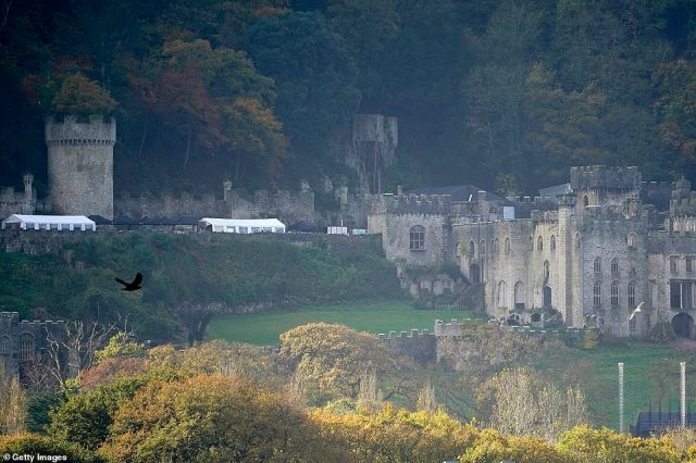 Location, location:The accommodation will place the crew just 15 minutes from the ruins of Gwyrch Castle, where the celebrity cast mates will be staying