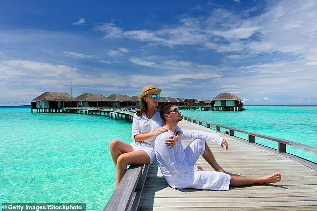 Off the list: Bookings to the Maldives soared by 469 per cent the week after the Government said Britons would no longer have to self-isolate after returning