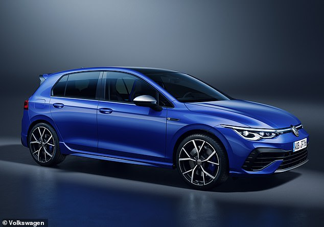 VW's new hooligan hatchback: This is the all-new Golf R, which packs a massive 320hp and - for the first time - features a 'Drift' mode