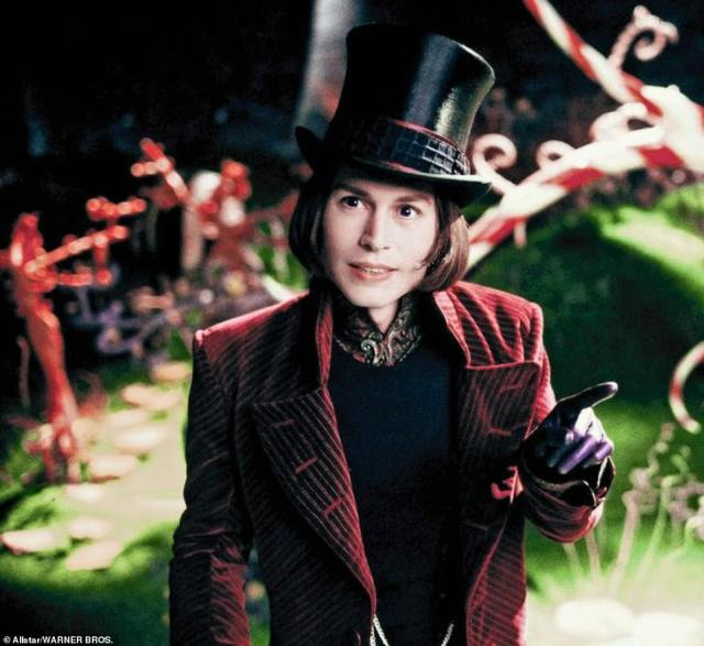 He'd (pictured in Charlie and the Chocolate Factory) sued after The Sun called him a wife beater, and the 129-page judgment rejecting that claim is being seen as not a victory for the newspaper, but for Amber Heard, his wife for just 15 chaotic months