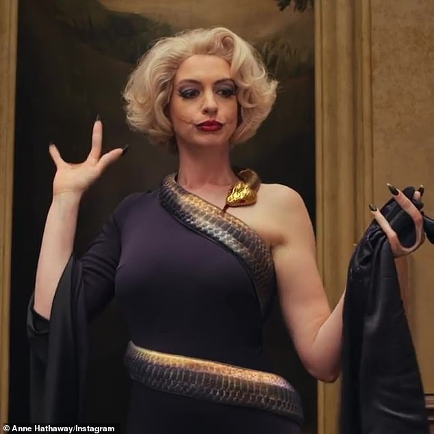 'Careless': The former Royal Marine, 33, has called the portrayal 'careless' and a 'classic example of unconscious biases' (Anne Hathaway pictured in film still)