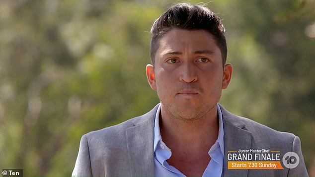 Adrian was shocked and heartbroken when he was cut from the show in Thursday night's finale