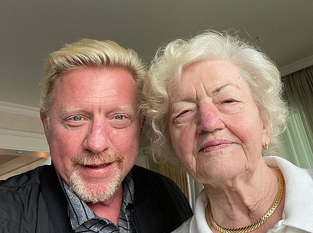 Boris Becker has been forced to sell his home inLeimen, Germany, for £1.8m with a condition of the sale that his motherElvira, 85, (pictured together) can remain in a granny anex there