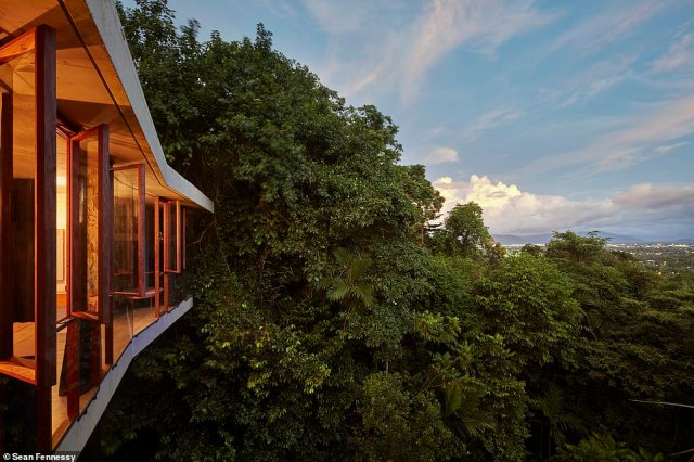 A jawdropping cliffside retreat that was named Australian House of the Year at the Houses Awards in 2015 has sold by its architect owners, after being dubbed one of the most architecturally remarkable Aussie homes (Planochella House pictured)