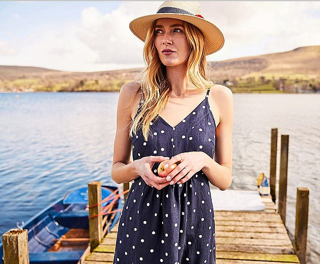 Joules hailed strong online sales it was forced to close stores in the latest lockdown