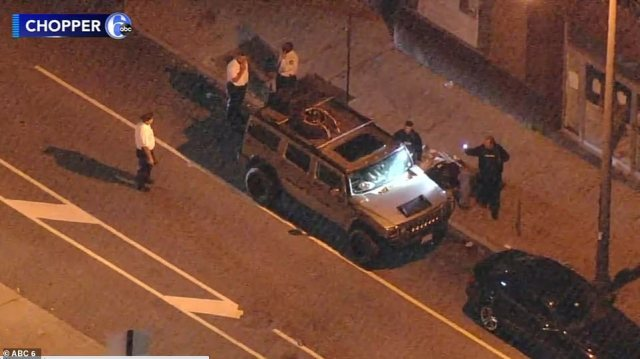 PHILADELPHIA: Two men were arrested after driving from Virginia on Thursday to thePennsylvania Convention Center