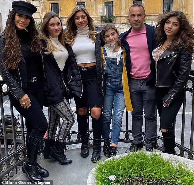 Family is everything: He and Teresa have maintained an amicable relationship since their split and she took their four daughters to Italy before lockdown to visit their father