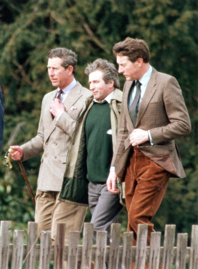 Prince Charles Richard Aylard and Jonathan Dimbelby at Sandringham.As a parting shot Bashir added that 'Prince Philip doesn't like Diana at all.' All this Charles Spencer duly recorded. However, he had found Bashir's claims so fantastic he rang one of the numbers the reporter had given him and spoke to a Panorama executive. In a note to himself in the file he wrote down the conversation. 'My name is Charles Spencer. Martin Bashir came to see me. Can you vouch for him?'