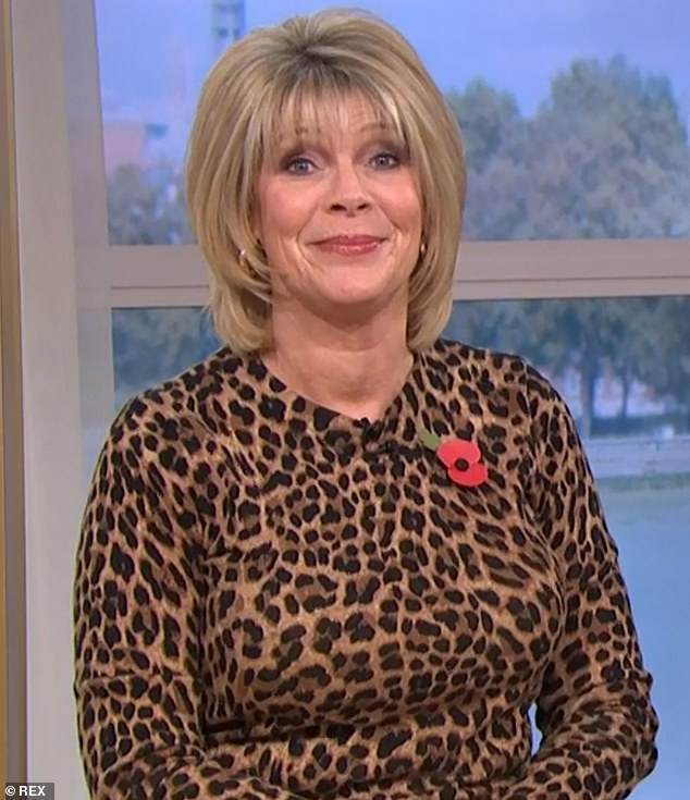 Having none of it!Ruth Langsford, 60, has revealed that she once threatened violence after a male colleague pinched her bum while on a TV set