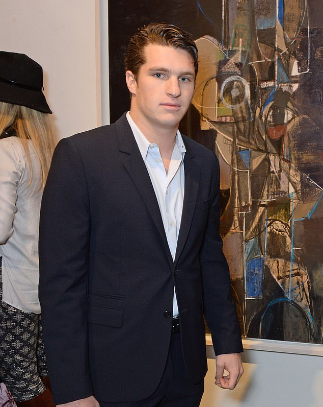 Really excited: 'Matt and Sofia are totally a thing, and he's really excited about it,' dished a source to Us Weekly at the time; Matthew pictured in 2014