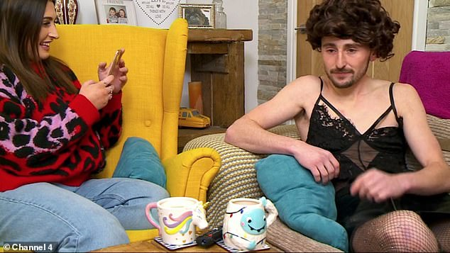 Complaints? Gogglebox viewers have reportedly complained to Ofcom over 'homophobic jokes' after a moment which saw Pete Sandiford dress as a woman for Halloween