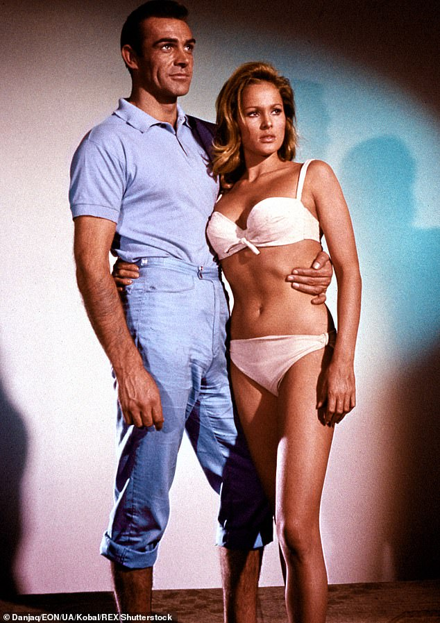 Connery with Ursula Andress for Dr. No in 1962.Connery, the first James Bond, enjoyed six official outings as the spy, beginning with Dr No in 1962 and ending with Diamonds Are Forever in 1971