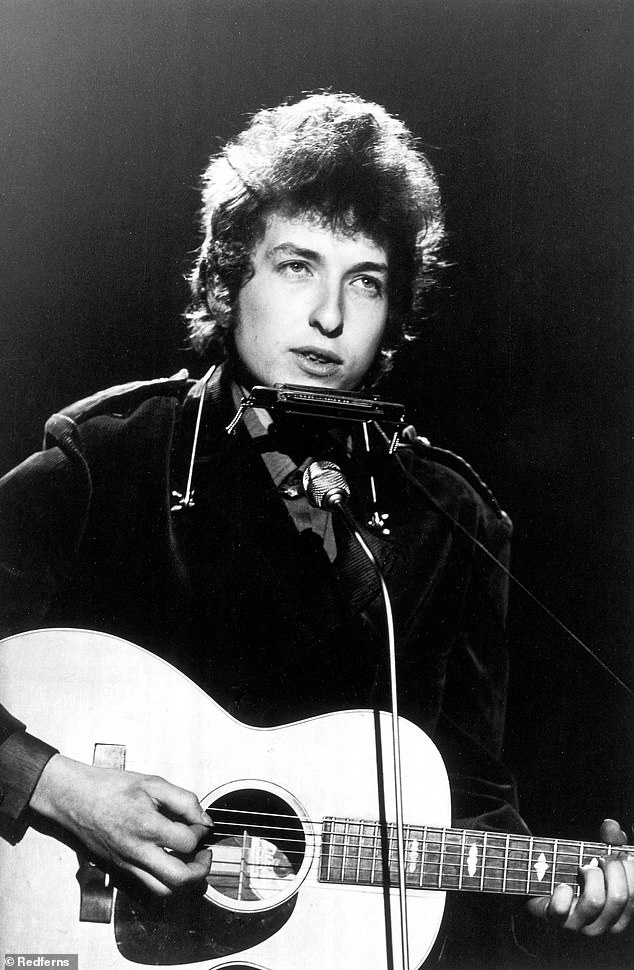 Canceled: Timothée was also slated to star as Bob Dylan in biopic about the Nobel prize-winning singer, but that project has been canceled for now, according to Collider; pictured in 1965