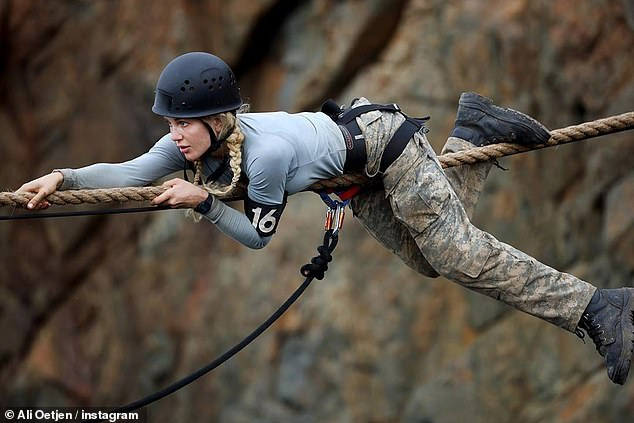 'Pushing past my fears is freedom': She shared a series of images of herself during tough challenges on the show, as well as a lengthy caption expressing her gratitude. She said: 'Letting go is freedom and proving to myself my mind is THE ONLY thing holding me back'