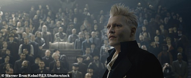 Hollywood career in tatters: Days after the end of the court case, Johnny resigned from the Fantastic Beasts franchise