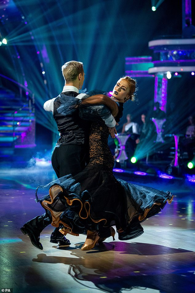 One to watch: Maisie wowed with last week's Tango and will be hoping to impress the judges this week