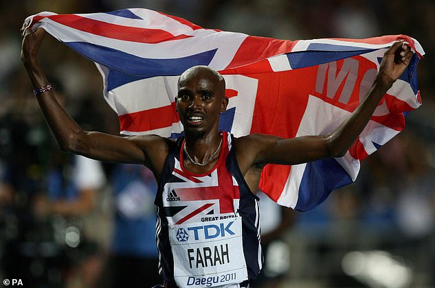 Cash: Sir Mo Farah has also reportedly negotiated a huge fee for his first reality TV appearance on I'm A Celebrity, with one report suggesting he's being paid a whopping £300k fee.