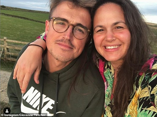 Here she is: Tom Fletcher's author wife Giovanna is rumoured to be party of the line-up