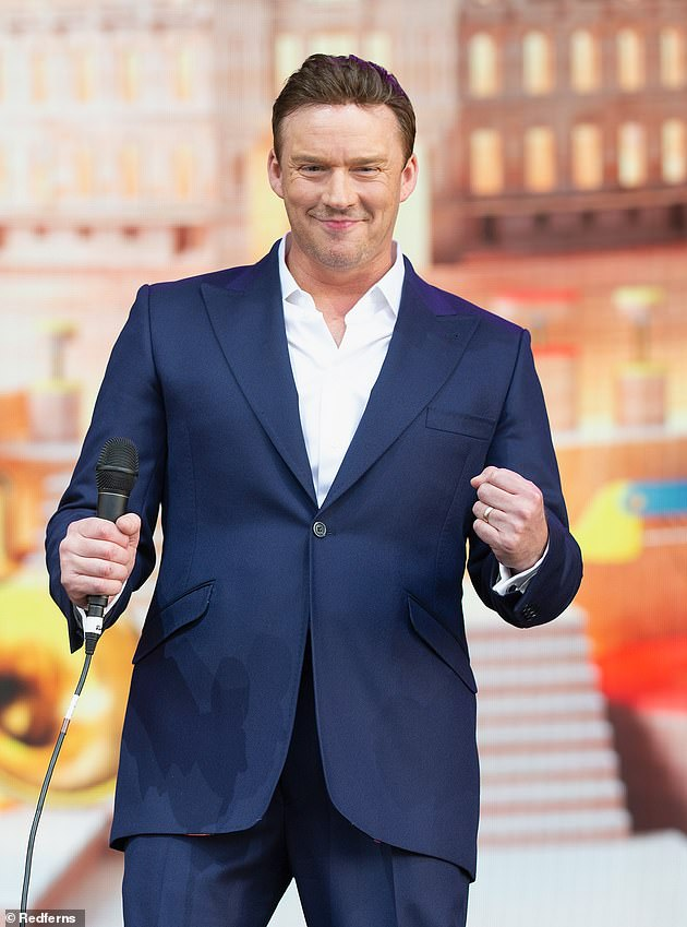 Showman: Opera singer Russell Watson reportedly signed up to star in series on £ 100,000 contract