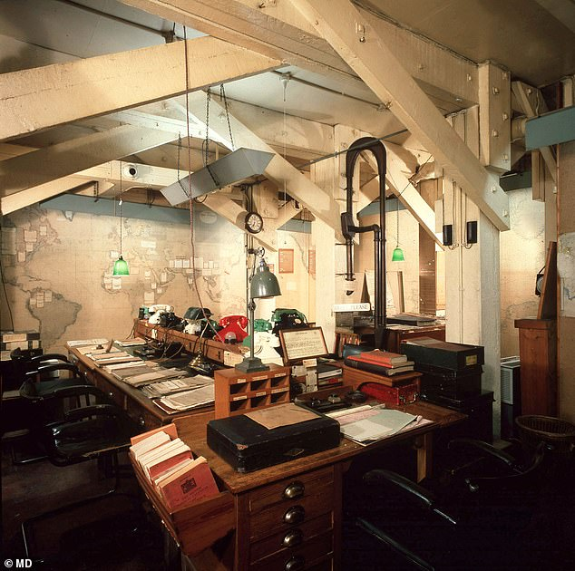 The Imperial War Museum'sChurchill War Rooms are based in the underground rooms which sheltered Britain's wartime Government