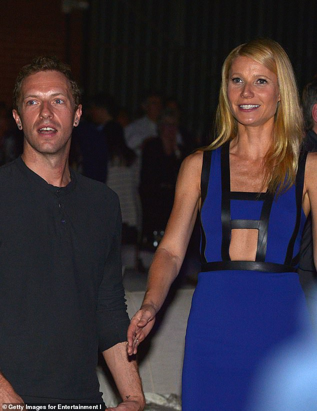 Conscious uncoupling:Paltrow and Martin were married from 2003 until their finalized divorce in 2016; Chris and Gwyneth pictured in 2014