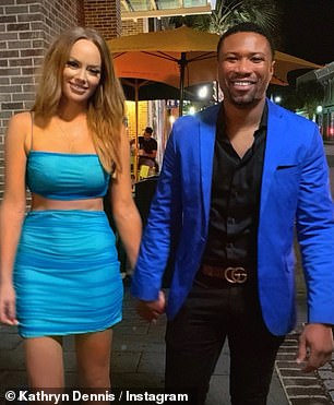 Item: Kathryn Dennis and Chleb Ravenell first sparked romance rumors in July