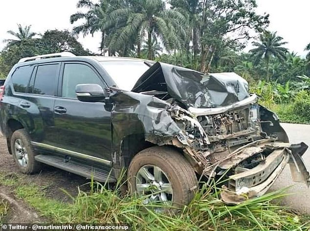 Samuel Eto'o is reportedly in hospital after his car was hit by a bus in his homeland Cameroon
