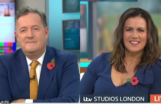 Before the exchange, Piers branded ministers 'gutless little weasels' for their boycott of the show, which began in April after a series of car crash interviews
