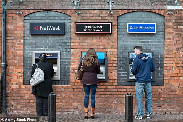 ATM withdrawals spiked in the run-up to England's second lockdown last Thursday