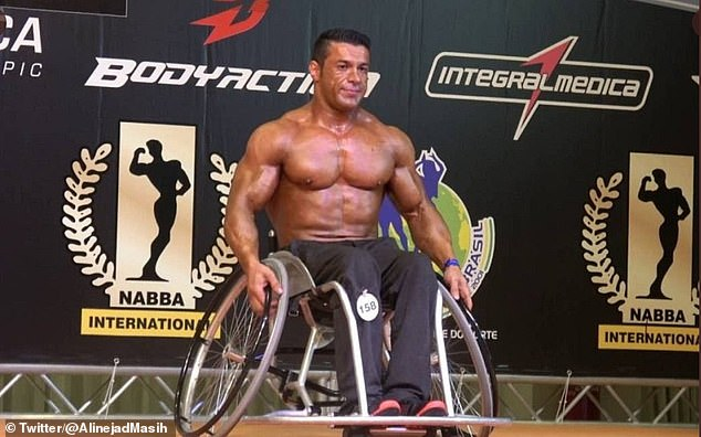 Reza Tabrizi, a bodybuilder who won a silver medal for powerlifting at the 2011 New Zealand Paralympics, could face execution for questioning why gyms in the holy city of Mashad were closed while shrines were allowed to stay open