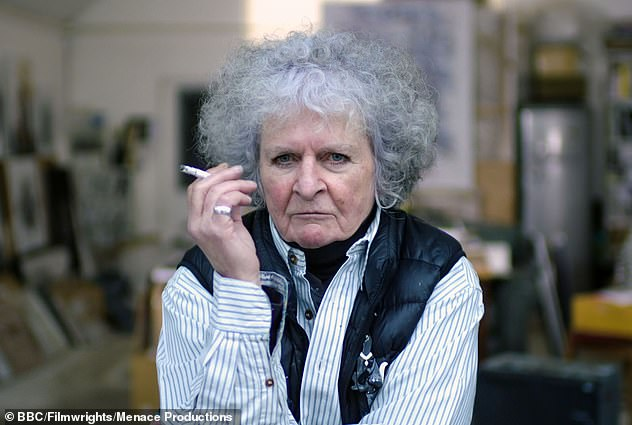 Artist Maggi Hambling defended the piece, saying it was 'for,' Wollstonecraft and not 'of' her