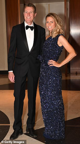 Christian Porter announced he and wife Jennifer had split in 2020