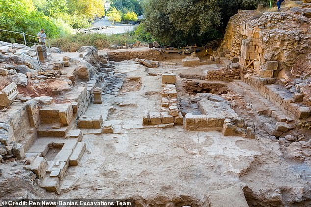 Experts from the University of Haifa believe the church was within the ancient city of Banias that had been renamed Caesarea Philippi during the lifetime of Jesus