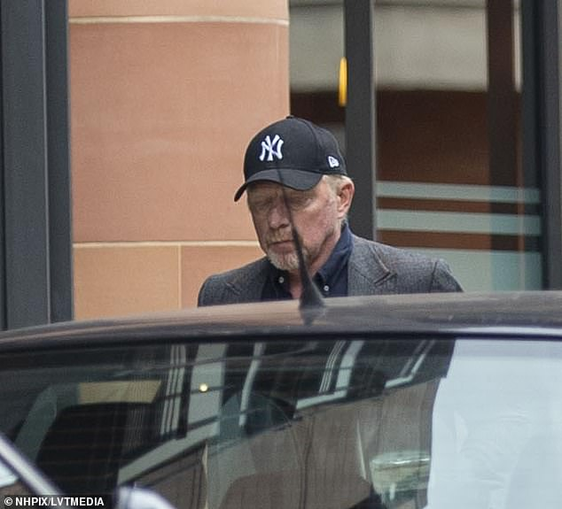 Case:Becker, who is believed to be living in a £5m penthouse flat, is currently facing 28 charges relating to alleged failure to disclose information over his bankruptcy
