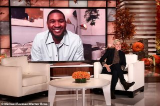 Usher gushes over being a daddy to baby daughter Sovereign Bo on Ellen