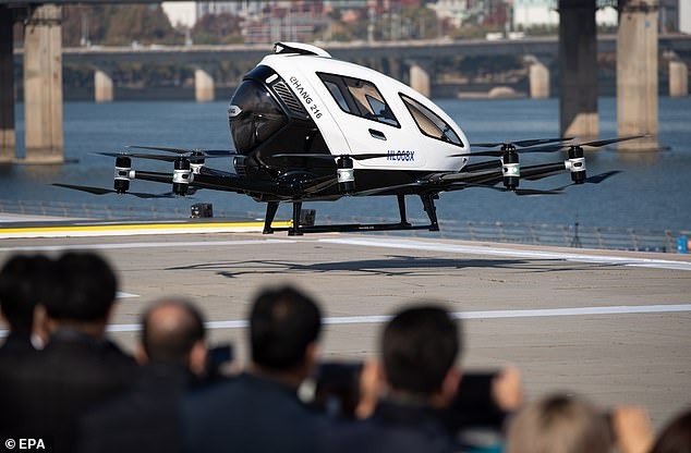 Drones will play a key role in fighting traffic congestion in dense urban areas and are environmentally friendly said a government official