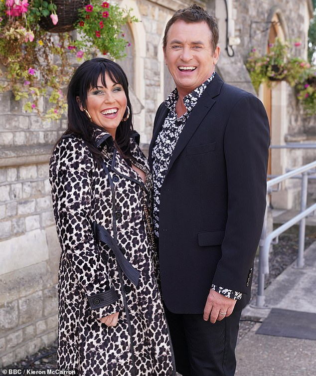 Keeping quiet:Shane admitted it was a challenge trying to keep his involvement in the show a secret, even when he was grilled about the rumours by his close friend Jessie Wallace