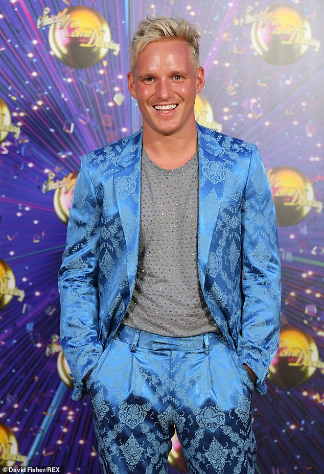 Comeback king: The only other star to ever return to the show is Jamie Lang, who was allowed to a second chance to star in this year's Strictly after injury ruled him out of the 2019 series