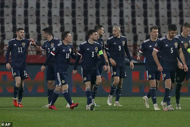 Robertson praised Scotland's rebound ability after disappointing displays in recent years