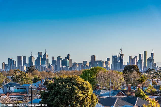 Melbourne's (pictured) property market is set to make a comeback after the city is slowly recovering from the fallout of the coronavirus pandemic
