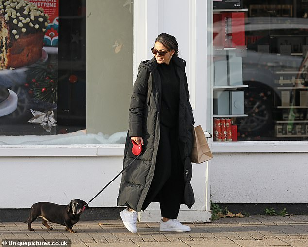 Response:Michelle Keegan's representatives declined to comment when approached by MailOnline