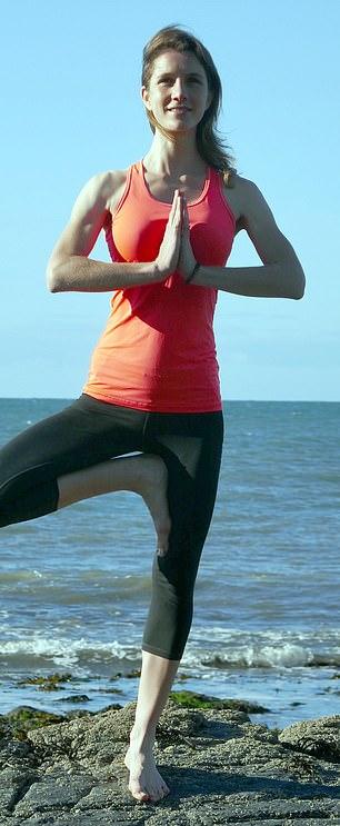 Work-life balance: Emma White took redundancy and is now teaching yoga
